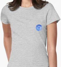 Chromium Logo Women's Fitted T-Shirt