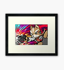Fox | Blaster Shot Framed Print