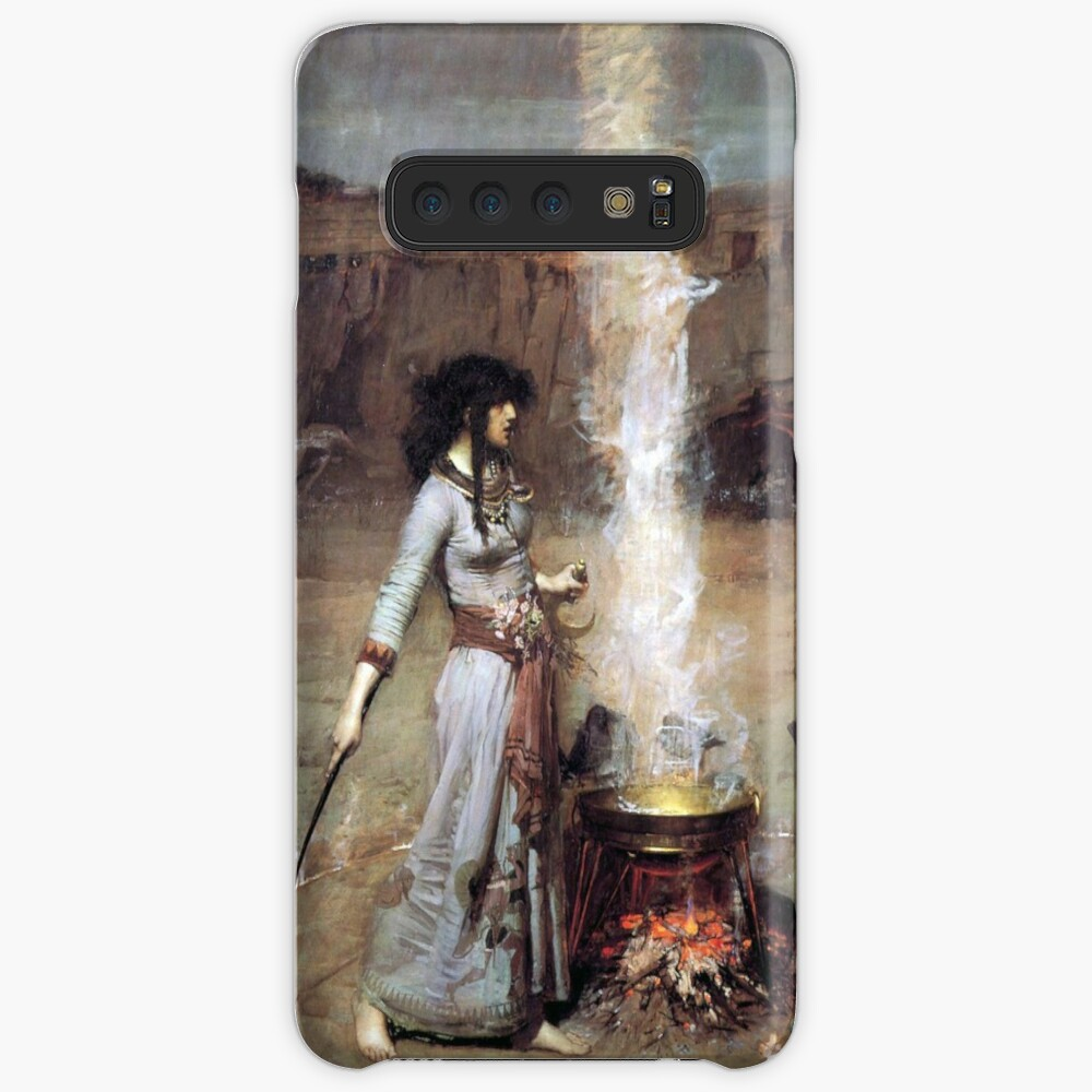 MAGIC CIRCLE - John William Waterhouse  Case & Skin for Samsung Galaxy