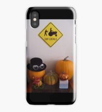 It's Halloween. Eat Locals. iPhone Case/Skin