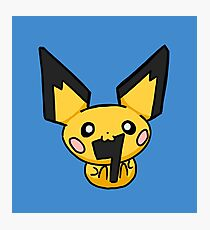 Pichu: Very Cute But Very Dumb Photographic Print