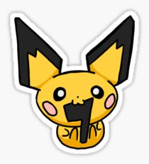 Pichu: Very Cute But Very Dumb Sticker