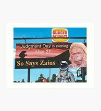 So Says Zaius Art Print