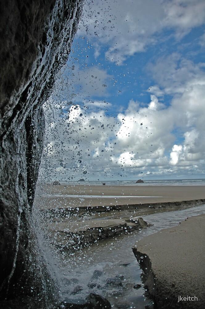 Coastal Falls by jkeitch