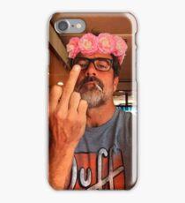 Jeffrey Dean Morgan Flower Crown iPhone Case/Skin