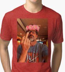 Jeffrey Dean Morgan Flower Crown Tri-blend T-Shirt