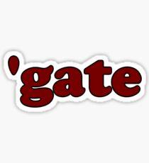 """""""'gate"""" retro Sticker"""