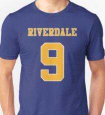 Riverdale Jersey - 9, Archie / Jason Blüte Slim Fit T-Shirt
