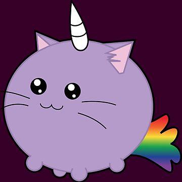 Cute Unicorn Cat !  by uredian