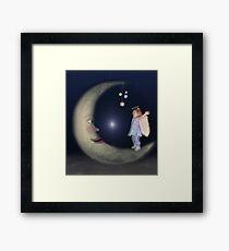 Reach For The Stars - Version 2 Framed Print