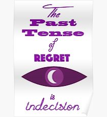 The Past Tense of Regret Poster