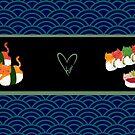 Sushi Mug by kieutiepie