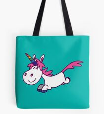 Galloping Cartoon Unicorn by Cheerful Madness!! Tote Bag