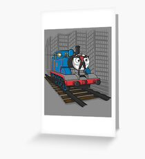 MINI HERO Greeting Card