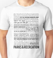 Parks and Recreation Quotes Unisex T-Shirt