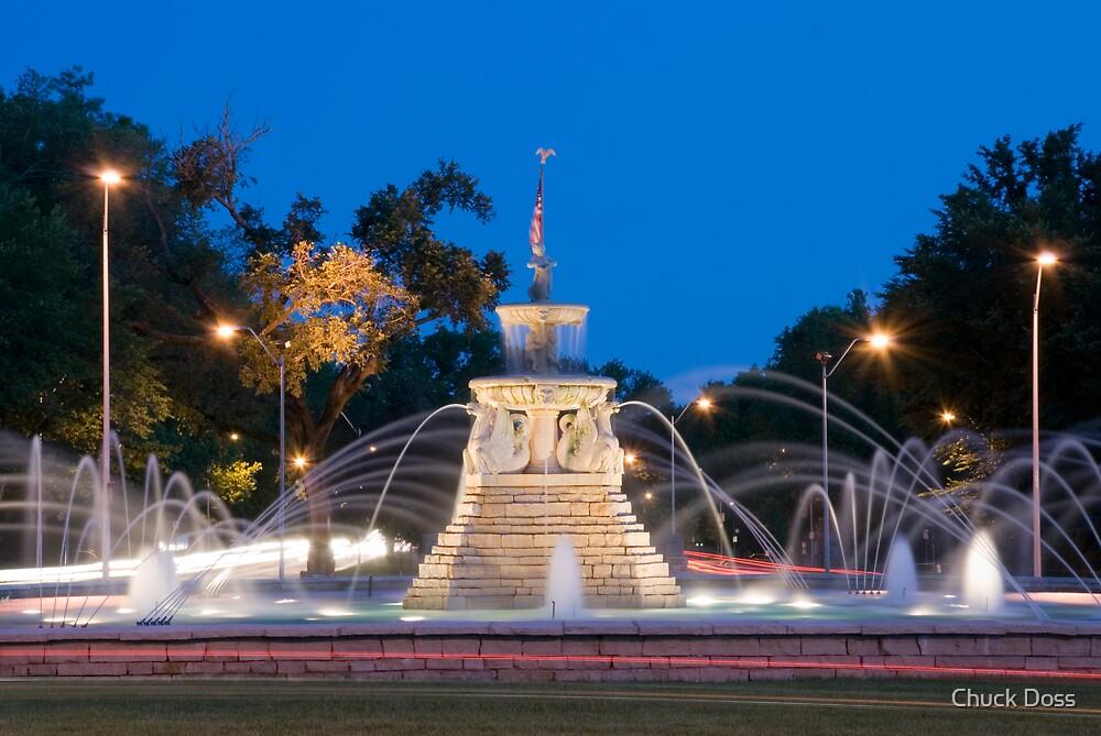 Meyers Street Fountain by Chuck Doss