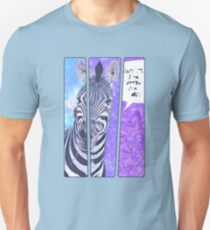 Comic-Buch Zebra Unisex T-Shirt