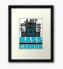 DJ Pon-3: Bass Cannon Framed Print