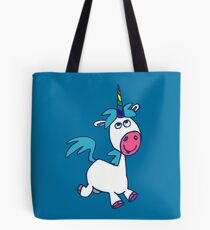 Joyous Cartoon Unicorn by Cheerful Madness!! Tote Bag