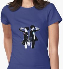 Persona 3 Art Vector Women's Fitted T-Shirt