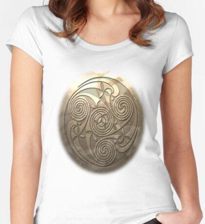 Shield Seal T-Shirt Style A Women's Fitted Scoop T-Shirt