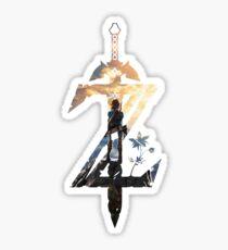The Legend of Zelda Breath of the Wild Sticker