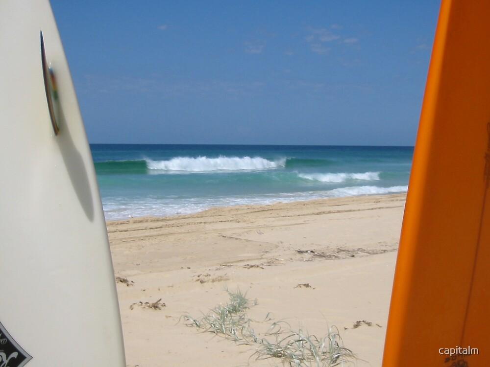 Framed Beachbreak by capitalm