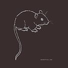 Mouse or Rat by fuxart