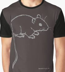 Mouse or Rat Graphic T-Shirt