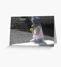 Stop And Smell The Dandelions Greeting Card