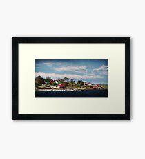 Big Tancook Island Houses Framed Print