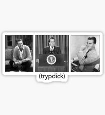 Tryptic Trypdick Sticker