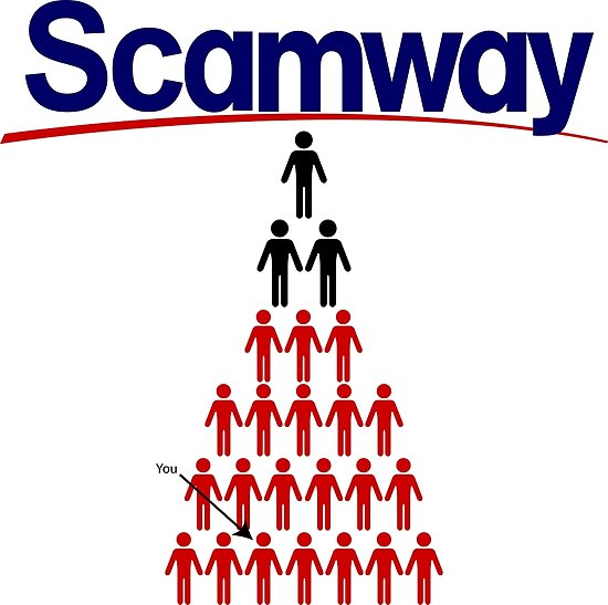 "Scamway"" Poster by stoopiditees 