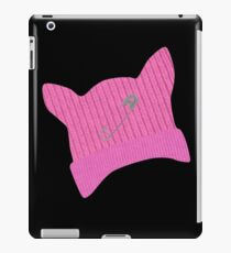Pink Pussy Knit Hat iPad Case/Skin