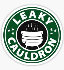 Leaky Cauldron (GREEN) Sticker