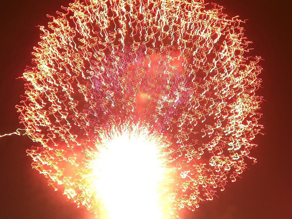 Firework Dandelion Clock by Steven Slusher