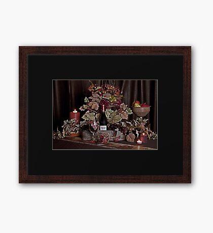 It's a Sutter Homes Evening Framed Print
