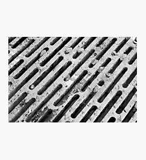 Grate Photographic Print