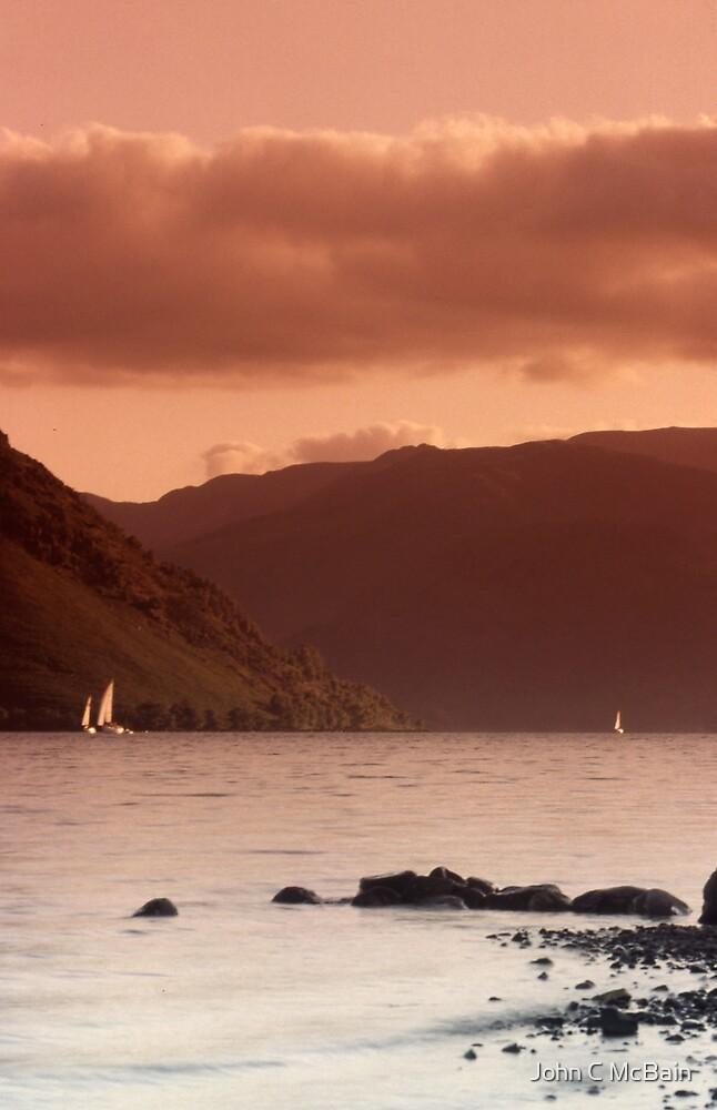 Lake Coniston - The Lake District, England by John C McBain