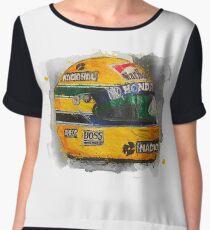 Ayrton Senna T-shirt Chiffon Top
