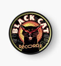 Black Cat LP Art Deco Clock