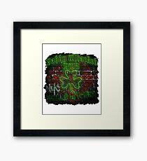 Paddy Whacked Pub Neon Brick Wall Framed Print