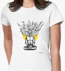 Inspired Meditation Women's Fitted T-Shirt