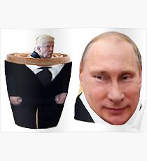 Trump-Putin Nested Dolls Poster