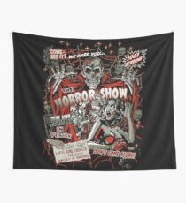 Spook Show Horror movie Monsters  Wall Tapestry