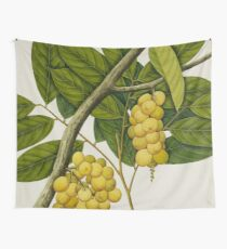 Vintage Grapes Wall Tapestry