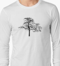 tree black version Long Sleeve T-Shirt
