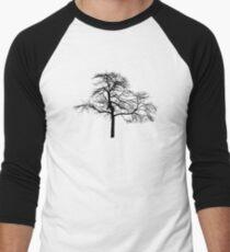 tree black version Men's Baseball ¾ T-Shirt