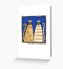 Cat burglars Greeting Card