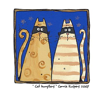 Cat burglars by cfkaatje